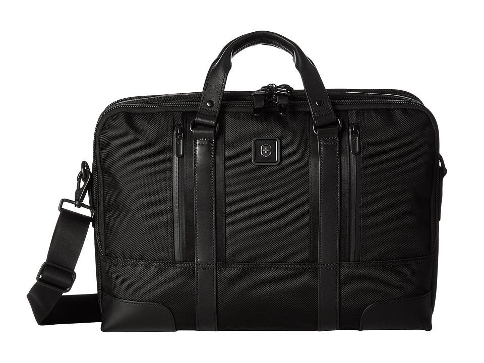 Victorinox - Paulista 17'' Laptop Brief (Black) Computer Bags -  adult
