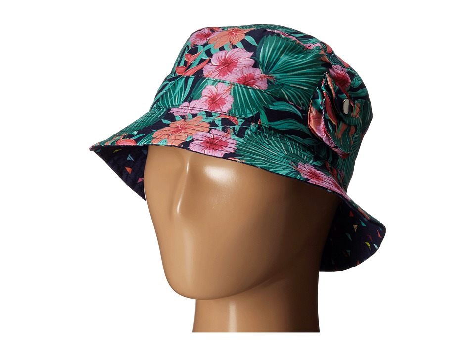 San Diego Hat Company Kids - 2 Inch Brim Fishermans Bucket Hat with Functional Pocket