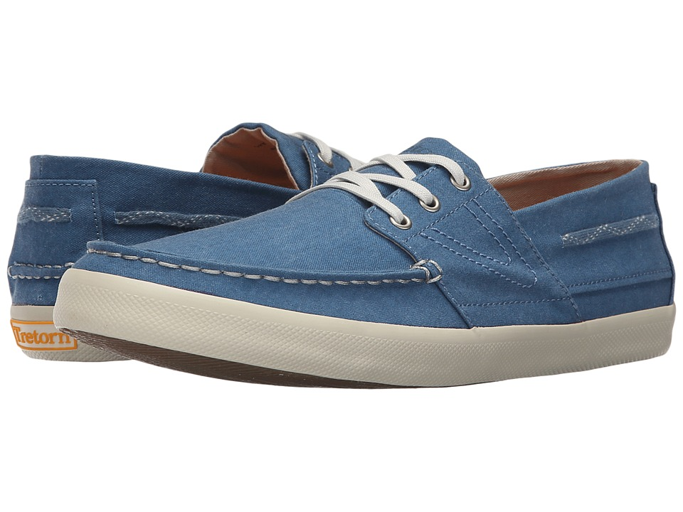 Tretorn - Otto Washed Canvas (Moroccan Blue) Men