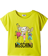 Moschino Kids - Short Sleeve Shirt w/ Graphics (Big Kids)