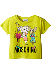 Moschino Kids - Short Sleeve Shirt w/ Graphics (Little Kids/Big Kids)