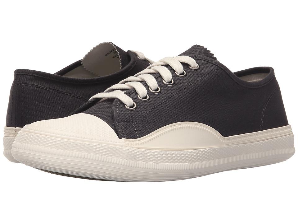Tretorn - Racket High Low Canvas (Jet Black) Mens  Shoes