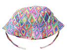 San Diego Hat Company Kids Reversible Sublimated Bucket Hat with Adjustabel Velcro Chin Strap