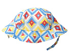 San Diego Hat Company Kids 4 Panel Sublimated Bucket Hat with Adjustabel Chin Strap