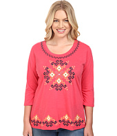 Roper - Plus Size 0444 Light Slub Jersey Tunic