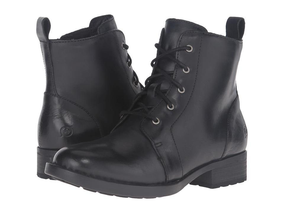 Born Troye (Black Full Grain Leather) Women