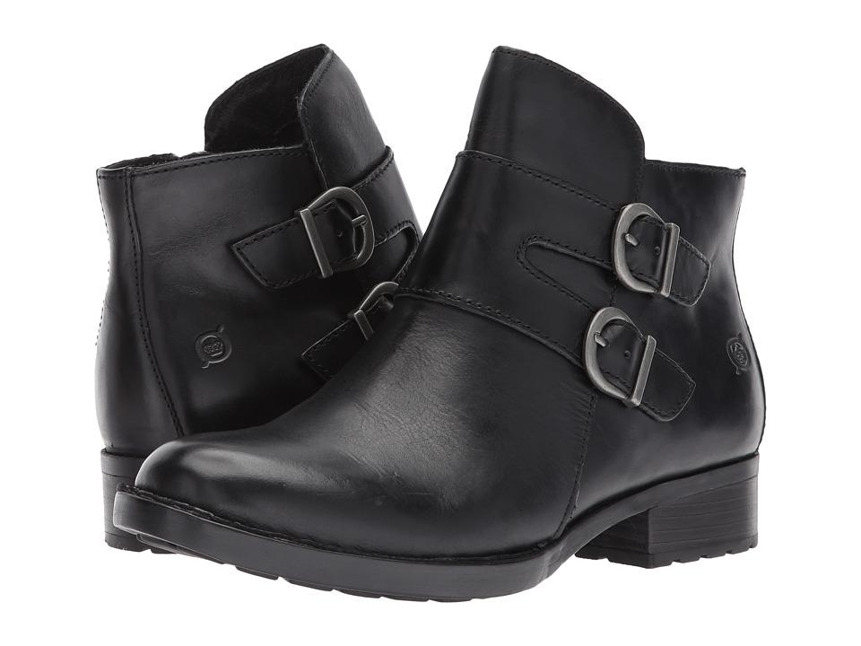 Born - Adler (Black Full Grain Leather) Women