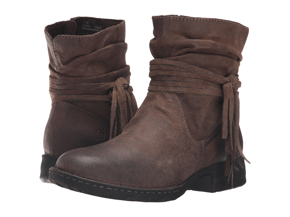 Born - Cross (Taupe Distressed) Womens Boots
