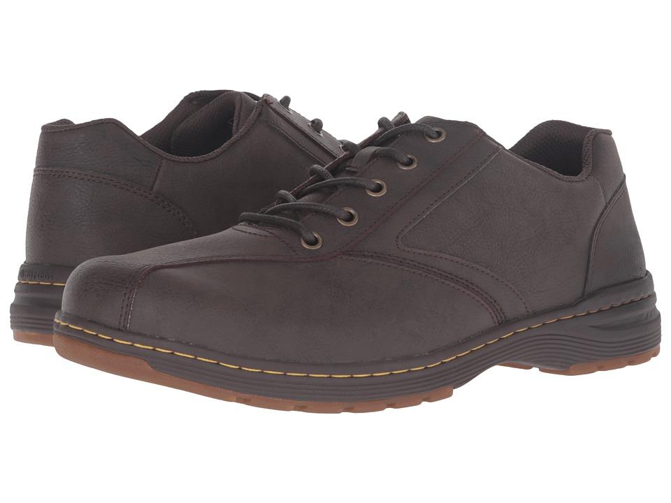 Dr. Martens Greig 5-Eye Shoe (Brown Vancouver Split) Lace up casual Shoes