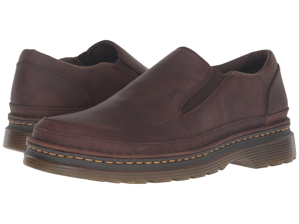 Dr. Martens Hickmire Slip-On Shoe (Brown Kingdom) Shoes