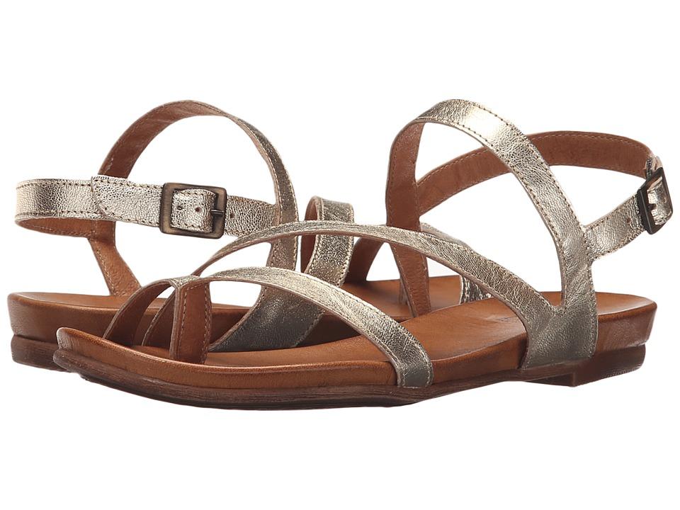 Miz Mooz Alana Gold Womens Sandals