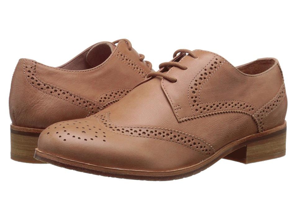 Miz Mooz - Brigitta Nude Womens Dress Flat Shoes $95.99 AT vintagedancer.com