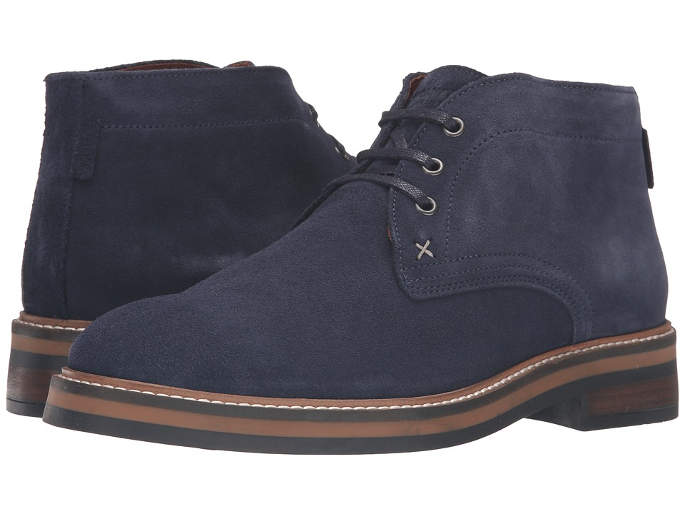 Wolverine Francisco Chukka (Navy Suede) Men