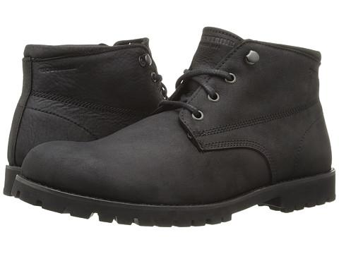 Wolverine Cort Waterproof Leather Chukka - Black Leather