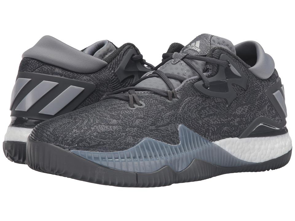 adidas - Crazylight Boost Low (Grey/White) Men