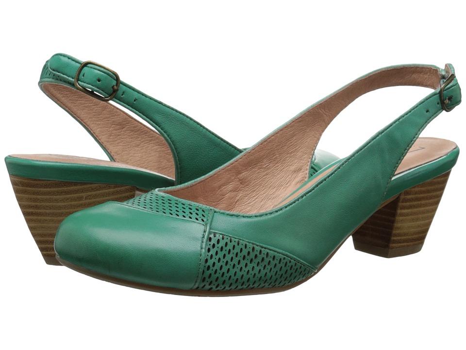 Miz Mooz Faustine Green High Heels