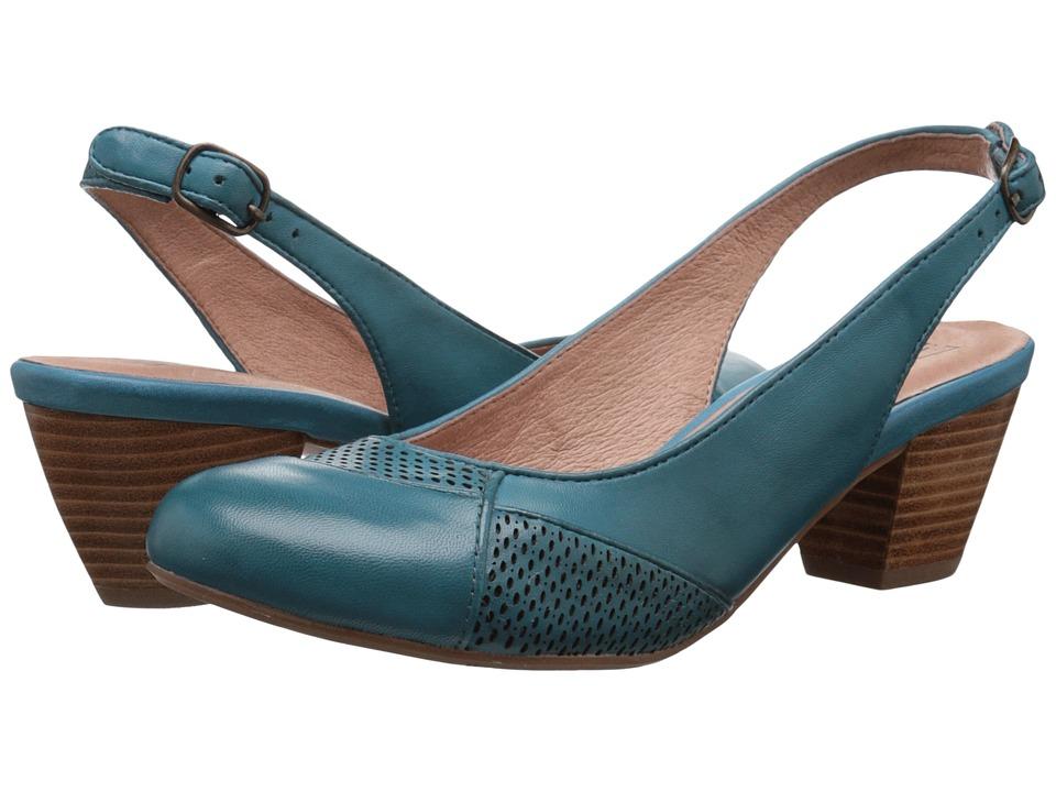 Miz Mooz Faustine Blue High Heels