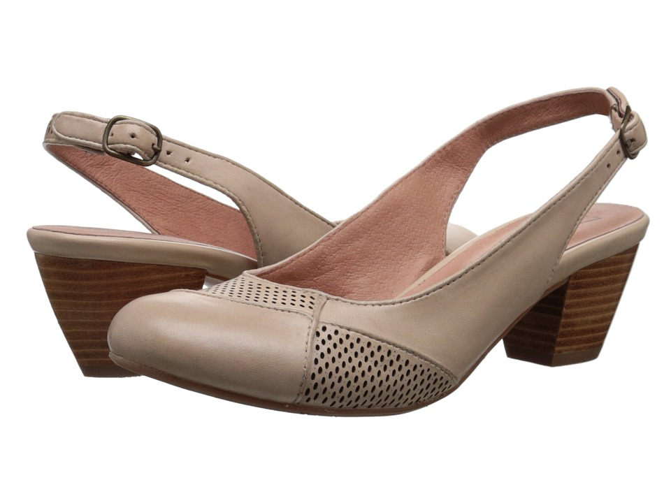 Miz Mooz Faustine Cream High Heels