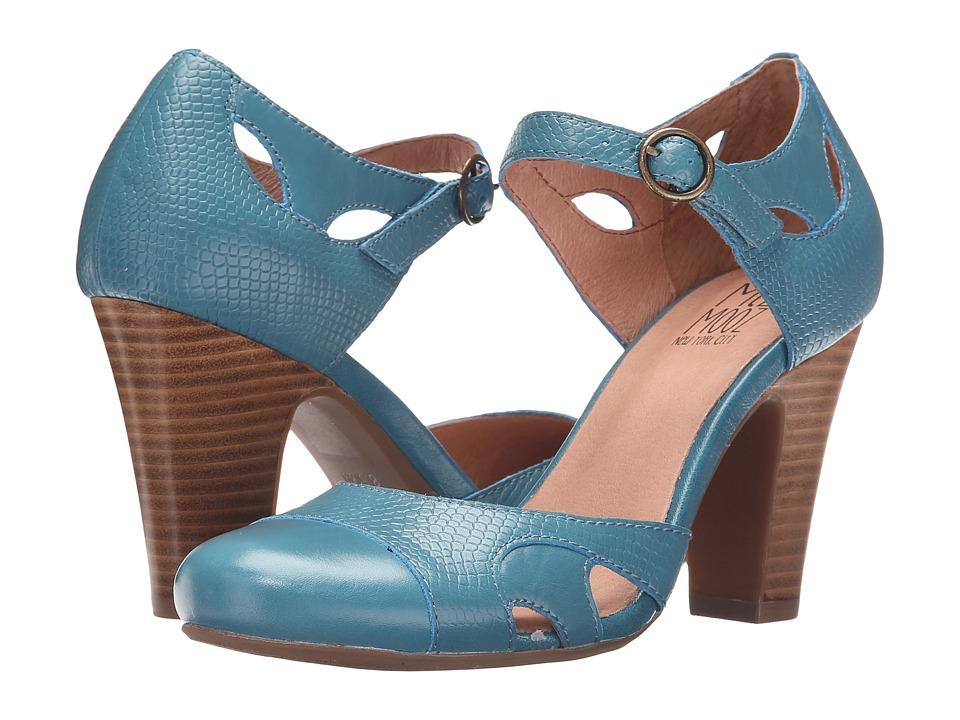 Miz Mooz - Joanne Blue High Heels $129.95 AT vintagedancer.com