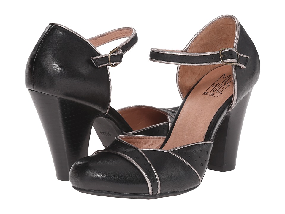 Miz Mooz - Nicolina Black High Heels $119.95 AT vintagedancer.com