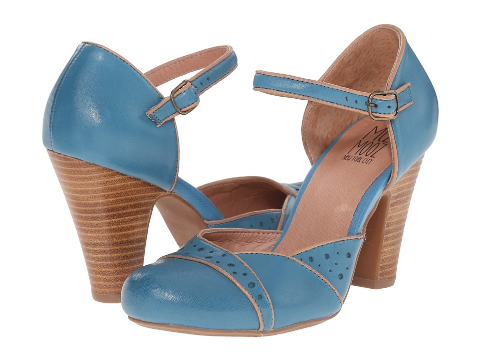 Miz Mooz Nicolina Blue High Heels