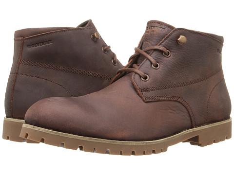 Wolverine Cort Waterproof Leather Chukka - Brown Leather 1