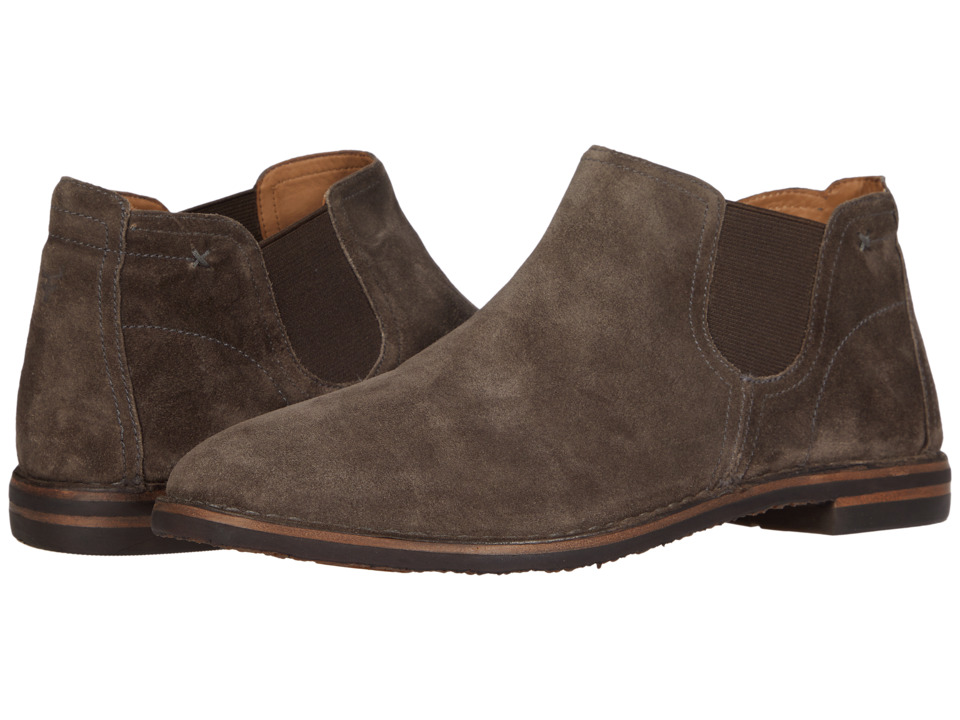 Trask Allison (Gray Italian Suede 1) Women's Dress Boots