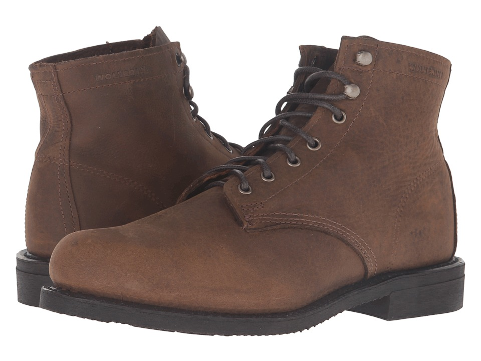 Wolverine Kilometer (Light Brown Leather) Men