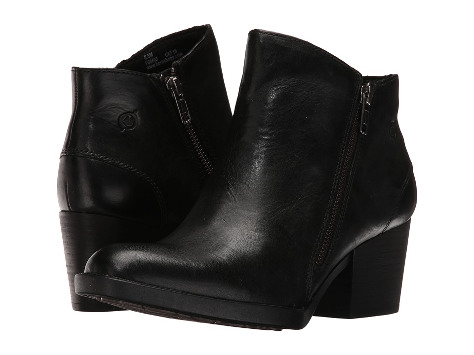 Born Rowell (Black Full Grain Leather) Women
