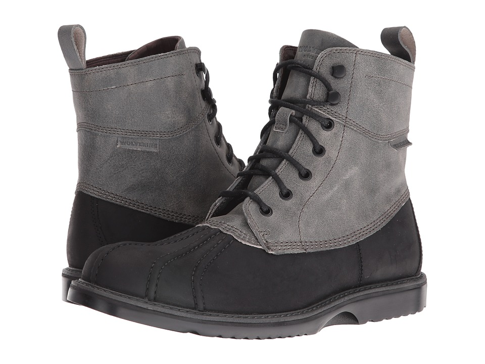 Wolverine Felix 6 Duck Boot (Black Multi Leather) Men