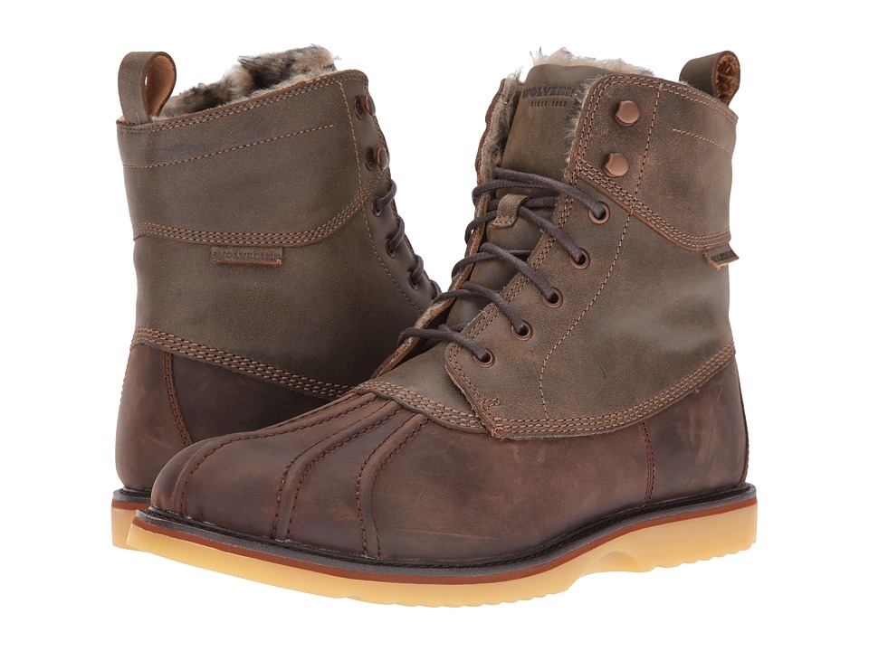 Wolverine Felix 6 Duck Boot (Brown Multi Leather) Men