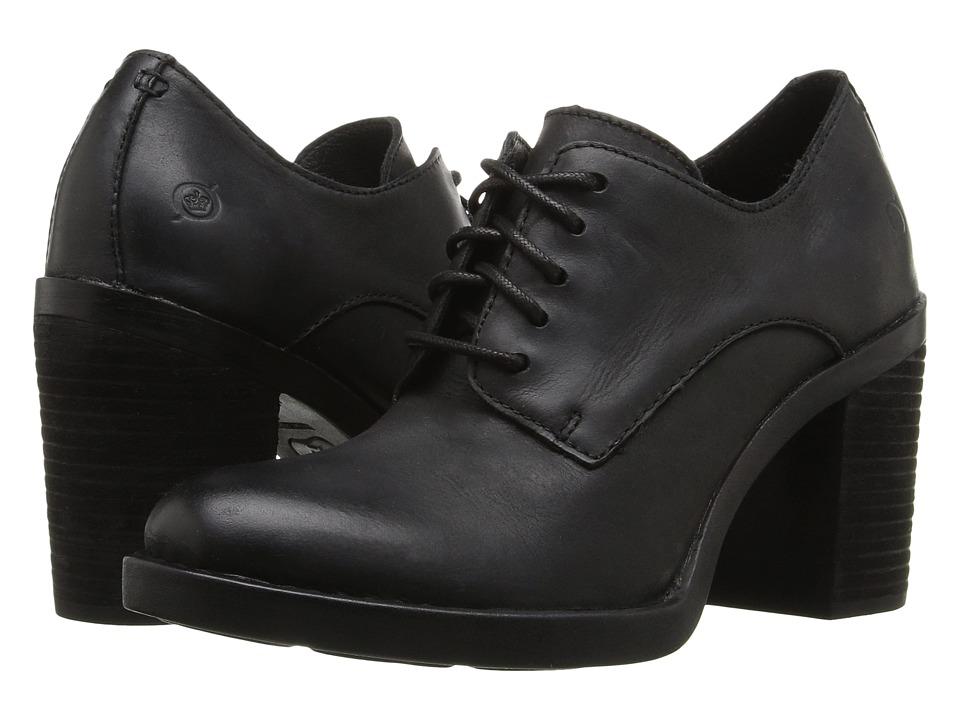 Born - Jolene (Black Full Grain Leather) Women