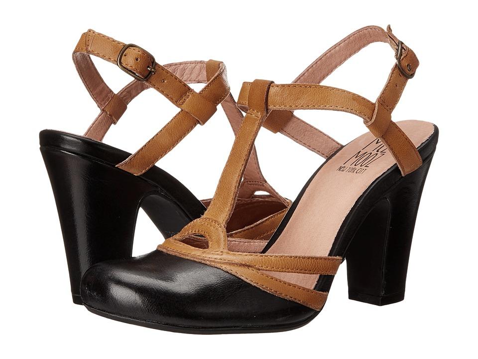 Miz Mooz - Josette Black Womens ClogMule Shoes $104.99 AT vintagedancer.com