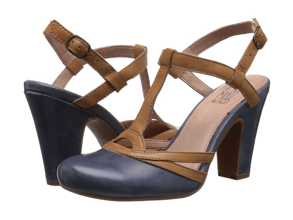 Miz Mooz - Josette Blue Womens ClogMule Shoes $117.99 AT vintagedancer.com