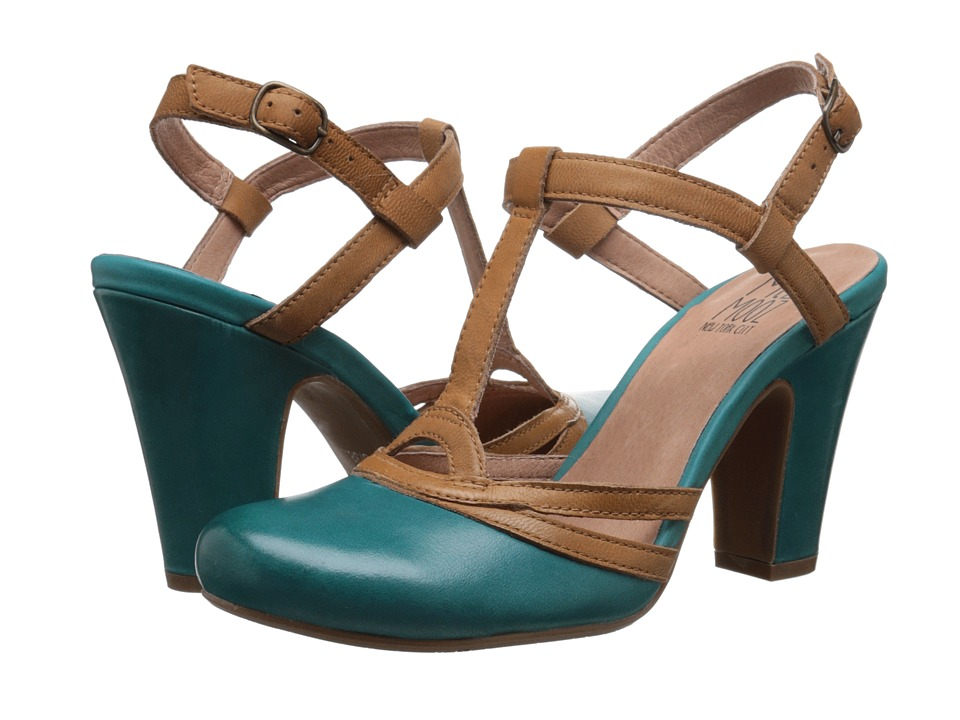 Miz Mooz - Josette Marine Womens ClogMule Shoes $104.99 AT vintagedancer.com