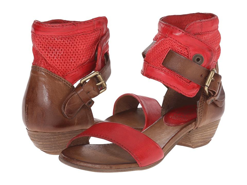 Miz Mooz - Cali Red Womens Sandals $139.95 AT vintagedancer.com