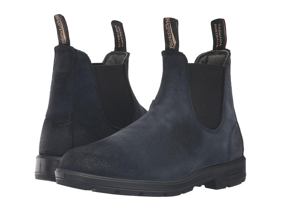 Blundstone - BL1462 (Indigo Blue Suede) Pull-on Boots