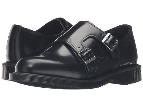 Dr. Martens Pandora Double Monk Strap - Black Polished Smooth