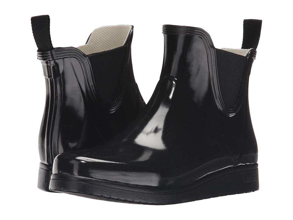 Tretorn Charlie Classic Black Womens Shoes