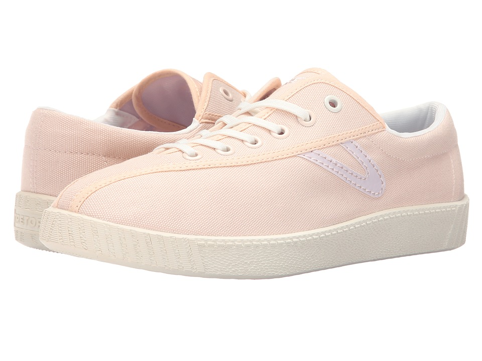 Tretorn Nylite Canvas W Tennis Pink Champagne Womens Shoes