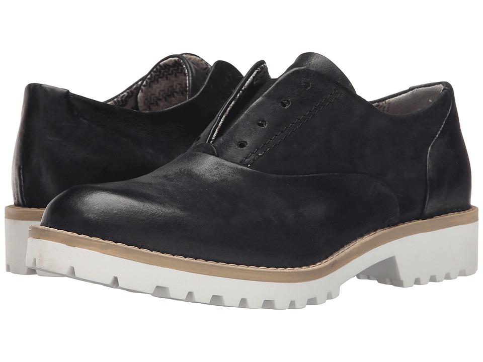 Miz Mooz Germaine Black Womens Lace up casual Shoes