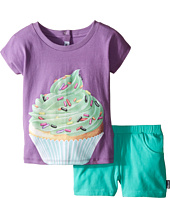 Moschino Kids - Cupcake Graphic T-Shirt and Shorts Set (Infant/Toddler)