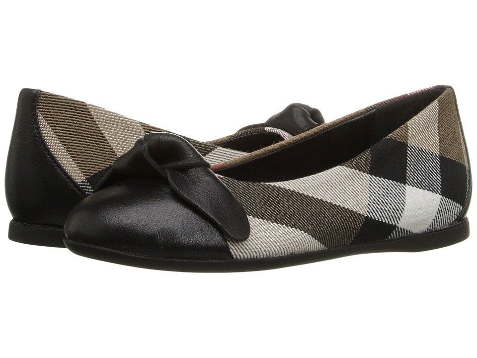 Burberry Kids Yaxley (Toddler/Little Kid) (Black) Girl's Shoes
