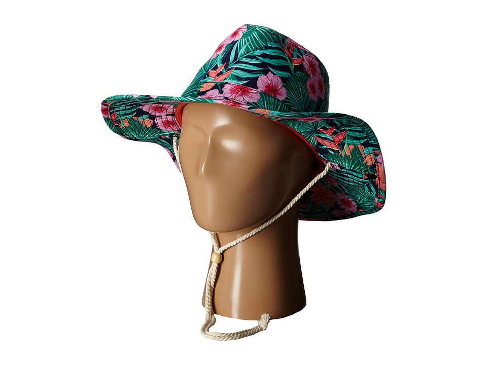 San Diego Hat Company Kids - Cowboy Shape Printed Hat with Adjustable Rope Chin Cord