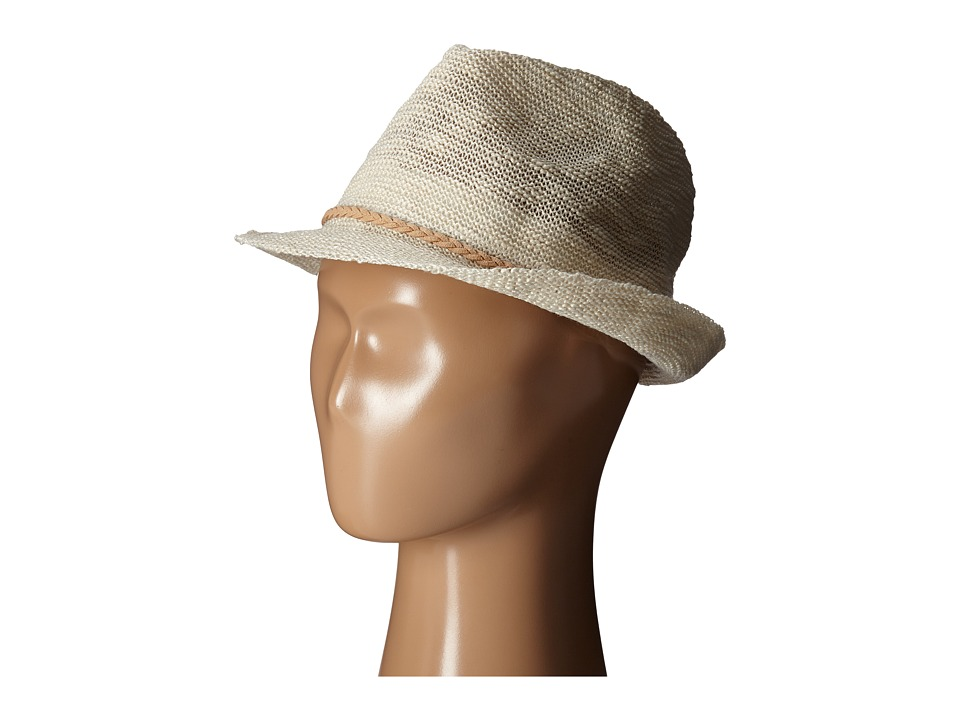 San Diego Hat Company Kids Knit Fedora Hat Little Kids/Big Kids Ivory Fedora Hats