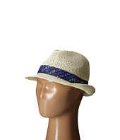 San Diego Hat Company Kids - Fedora Hat with Noveltry Print Band (Little Kids)
