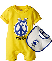 Moschino Kids - Romper and Bib Gift Box (Infant)