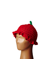 San Diego Hat Company Kids - Cotton Crochet Strawberry Beanie (Toddler/Little Kids)