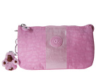 Kipling Creativity Cosmetic (Metallic Pink Plum Stripe)