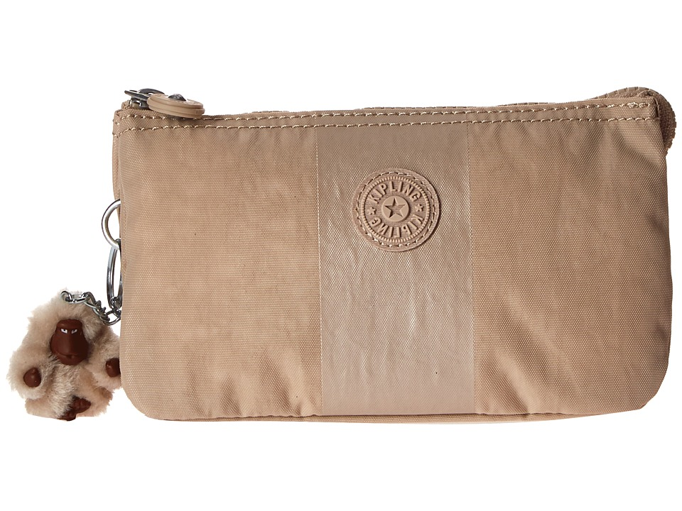 Kipling - Creativity Cosmetic (Gleaming Gold Metallic Stripe) Cosmetic Case
